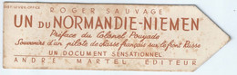 MARQUE PAGE Normandie Niemen - Bookmarks