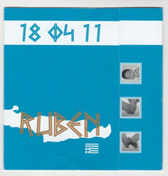 Geboortekaart-birthcard-Geburtskarte-carte De Naissance 2011 Lieshout (NL) - Nacimiento & Bautizo