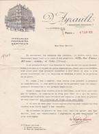 PARIS D AYRAULT IMMEUBLES PROPRIETES CAPITAUX DEMANDE POUR LA VENTE DE LA VILLA DES ROSES A CETON ANNEE 1929 - France