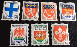 N° 1180  A  1186    NEUF ** SANS  CHARNIÈRE ( LOT:1563 ) - 1941-66 Wappen