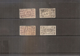 TR211/212  - 2X (Avec Cachet S.N.C.F.B.) Et Sans Le Cachet - Série Complète - Obl/gest/used (à Voir) - 1923-1941