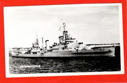 NAVY NAVAL  WARSHIPS  CRUISER  HMS GLASGOW RP AT GANGES SUFFOLK WORLD WAR 2 - Guerra