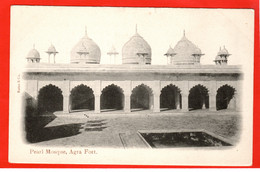 ASIA INDIA PEARL MOSQUE AGRA FORT - Islam