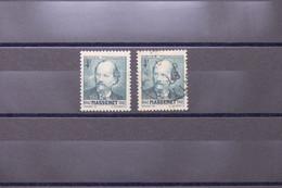 FRANCE - Variété - N° Yvert 545 - Massenet - Tache Blanche + Normal - Oblitérés - L 74058 - Variétés: 1941-44 Oblitérés