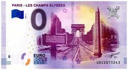 Billet Touristique - 0 Euro - France - Paris - Les Champs Elysées (2018-2) - EURO