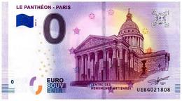 Billet Touristique - 0 Euro - France - Paris - Le Panthéon (2019-2) - EURO