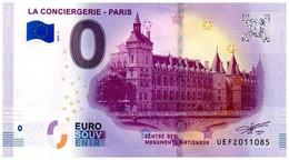 Billet Touristique - 0 Euro - France - Paris - La Conciergerie (2019-1) - EURO