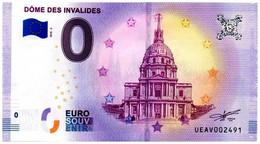 Billet Touristique - 0 Euro - France - Paris - Dôme Des Invalides (2018-5) - EURO