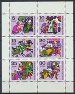 DDR 1970 / MiNr.  Kleinbogen 1545 - 1550    ** / MNH  (s422) - Blocks & Kleinbögen