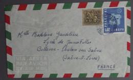 Portugal - Auto Ambulância Porto Vila Real > França France 1962 - Cavalinho 2$50 Europa 1$00 - Marcofilie