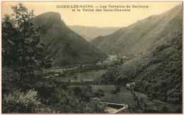 04  - DIGNE LES BAINS - Les Terrains De Barbejas Et La Vallée Des Eaux Chaudes  ** RARE ** - Digne