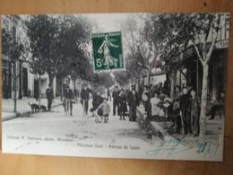 Cpa Miramas Gare Avenue De Salon - Otros Municipios