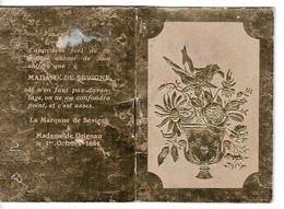 Petit Calendrier1939- D.8,5 X 6cm- Cet Almanach Pour 1939.PUB: Coiffure MARQUISE DE SEVIGNE , PARIS. - Petit Format : 1921-40
