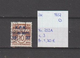 Denemarken 1937 - Yv. 252A - Mi. 241 Gest./obl./used - Usati