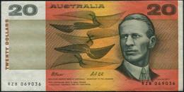Australia $20 Paper Money Banknote EF - Moneta Locale