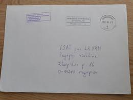 Lithuania Litauen Cover Sent From Marijampole To Pagegiai  2012 Taxe Percue - Lithuania