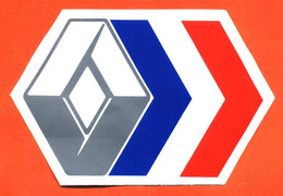 "Autocollant "" Logo Renault "" - Aufkleber"