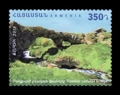 Armenia 2018 Mih. 1073 Europa. Bridges. Tsakkar Natural Bridge MNH ** - Armenia