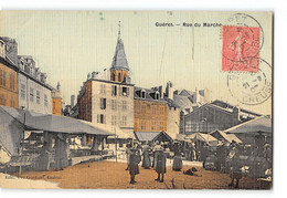 CPA 23 Gueret Rue Du Marché - Guéret
