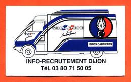 "Autocollant "" Gendarmerie "" Info Recrutement Dijon "" Fourgon Renault Master - Aufkleber"