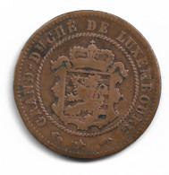 Monnaie  Luxembourg  5 Centimes 1855 Plat04 - Lussemburgo