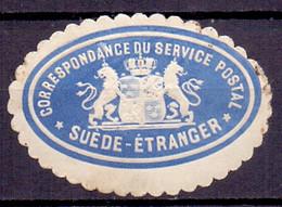 Zweden 1876 Post Dienstzegel PL-MLH - Service