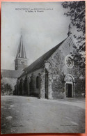 CARTE MONTPONT EN BRESSE - 71 - L' EGLISE LA FACADE - SCAN RECTO/VERSO -11 - Sonstige Gemeinden