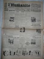 Journal Humanité Parti Communiste 30 Décembre 1934 Roanne Staviski Lorient Citroen Staline Flandrin - Andere