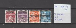 Denemarken 1938-'43 - Yv. 264A/D - Mi. Pakket 23 + 25/27 Gest./obl./used - Usati