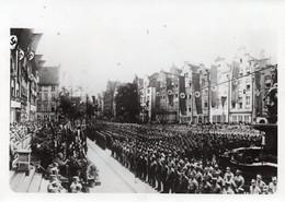 DANZICA  FESTEGGIA IL SUO PRIMO ANNIVERSARIO DEL RITORNO DEL GRANDE REICH GERMANICO - FOTO D'EPOCA ORIGINALE 1940 - Guerra, Militares