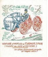 Chromo, étiquette -L' Image Magique, Voiture à Vapeur De Cugnot, Musée Des Arts Et Métiers (1769)- La Tonisine - Andere