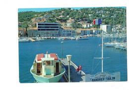 Cpm - 83 - St Mandrier - Toulon - Magasin CASINO - Bateau Vedettes Creux St Georges - 1984 - Toulon