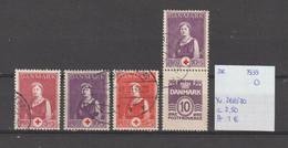 Denemarken 1939 - Yv. 268/70 - Mi. 250/52 Gest./obl./used - Usati