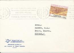 Spain Cover Sent To Ciudad Las Palmas 5-12-1978 Single Franked - 1931-Heute: 2. Rep. - ... Juan Carlos I