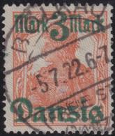 Danzig  .    Michel     .   29 II  (2 Scans)  .     O   .    Gebraucht     .   /   .   Cancelled - Danzig