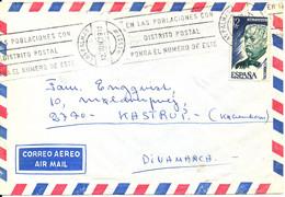 Spain Sent To Denmark Las Palmas 12-11-1979 Single Franked - 1931-Heute: 2. Rep. - ... Juan Carlos I