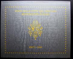 Coffret Vatican 2006 Qualité BU  Contenant Les 8 Pièces De 1 Centime à 2 Euros Effigie Pape Benoit XVI - Vaticaanstad