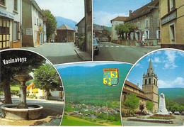 38 - VAULNAVEYS : Multivues - CPSM Village (3.870 H) Photo Grand Format Postée 1995 - Isère - Sonstige Gemeinden