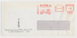 Meter Cover Netherlands 1966 Mine Lamp - Davy Lamp - Tank Truck - Esso - Goes - Sin Clasificación