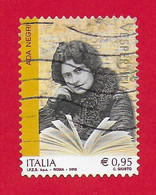 ITALIA REPUBBLICA USATO - 2018 - Eccellenze Italiane Del Sapere - Ada Negri - 0,95 € - S. 3813 - 2011-...: Used