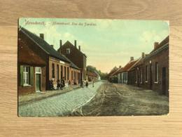 Postkaart – Arendonck – Hovestraat – Geanimeerd – Kleurendruk - Arendonk