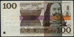 Netherlands 100 Gulden. Neerlandsche Bank Note. Pick #p93. 1970 - Dutch East Indies