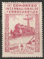 Spain 1930 Sc 384 Ed 480 MH Disturbed Gum - Unused Stamps
