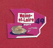 """Magnets. Magnets """"Le Gaulois"""" Départements Français. Saône Et Loire (71) - Altri"""
