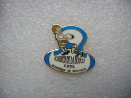 Pin's Rugby, Tournoi De La Boucle En 1992 Avec L'Olympique De Besancon - Rugby