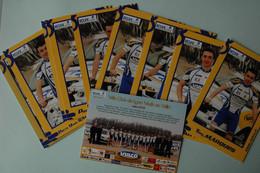 CYCLISME: CYCLISTE : EQUIPE VCL VAULX EN VELIN 2009 13 CP - Cyclisme