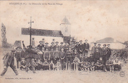 64 -- Pays Basque -- Béguios -- Le Dimanche Sur La Place Du Village -- Jeu De Quille - Other Municipalities