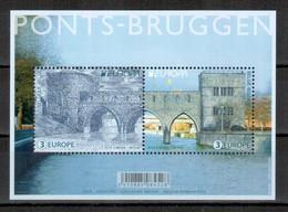 Belgien / Belgium / Belgique 2018 EUROPA Block/souvenir Sheet ** - 2018