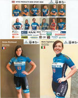 CYCLISME: CYCLISTE : EQUIPE HITEC FEMININE 2020 COMPLETE - Cyclisme