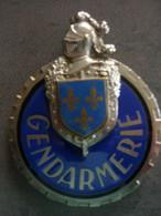 PLAQUE DE BAUDRIER GENDARMERIE ILE DE FRANCE - Police & Gendarmerie